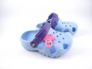 Кроксы сиреневые, пляжная обувь для девочек, сабо Jose Amorales