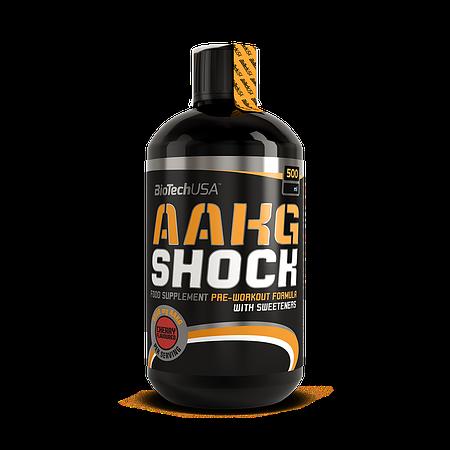 Аргинин BioTech USA AAKG Shock Extreme 500 ml