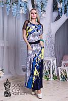 Молодежное Летнее Платье размеры 48-56 код 1749