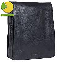 416127ef90e9 Надежная мужская кожаная сумка черная Итальянского бренда Lare Boss  LB0065016-31