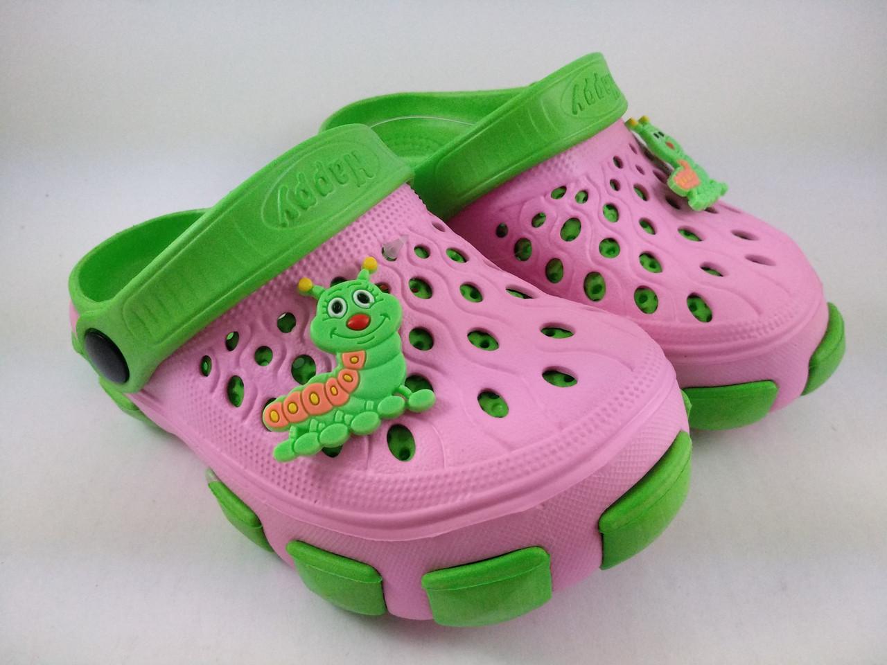 Кроксы розовые, пляжная обувь для девочек, сабо Jose Amorales