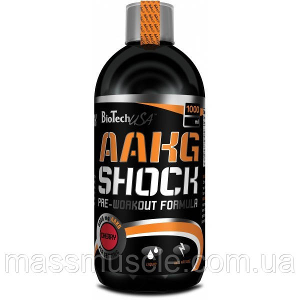 Аргинин BioTech USA AAKG Shock Extreme 1000 ml