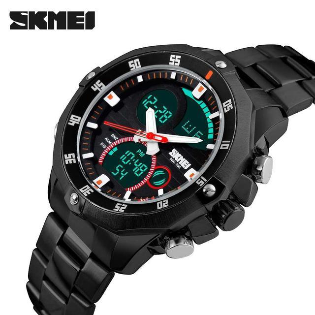772dbf01 Наручные часы SKMEI 1146 воплощают в себе традиционные взгляды на истинно  мужской аксессуар, демонстрируя весь джентльменский набор высоких  характеристик.