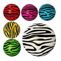 Мяч детский 9 дюймов, зебра