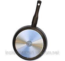Сковорода БИОЛ 28133П (діаметр 280 мм) алюмінієва з антипригарне покриття, фото 2