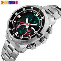 Мужские наручные часы SKMEI 1146 Silver, фото 1