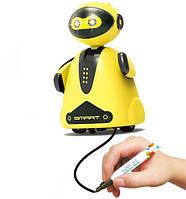 Индуктивная игрушка HAPPYCOW N777-631 робот с индуктивным сенсором LED Желтый (SUN0600)