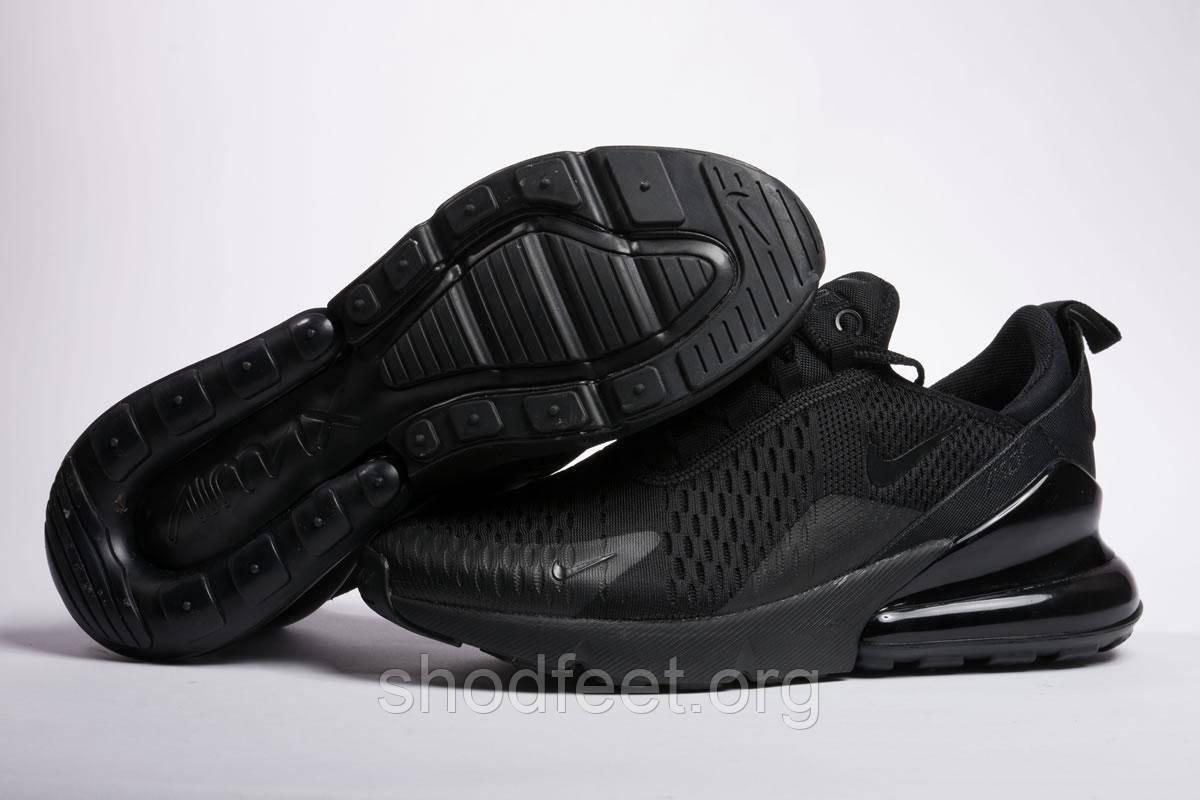 promo code 74c79 83dc7 Мужские кроссовки Nike Air Max 270 Flyknit Triple Black