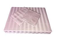 Жаккардовый комплект постельного белья Tac Noble (lila) евро размера