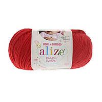 Alize baby wool - 56 красный