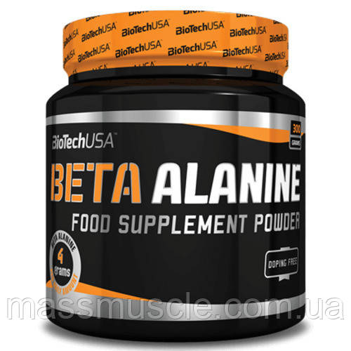 Аминокислоты BioTech USA Beta Alanine Powder 300g