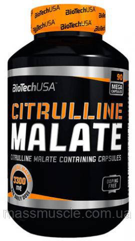 Аминокислоты BioTech USA Citrulline Malate 90 caps
