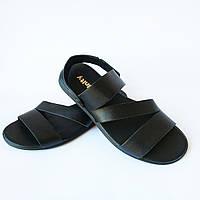 Кожаные мужские сандалии в категории сандалии и шлепанцы мужские в ... 53e6111d9a61c