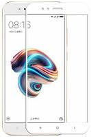 3D Защитное стекло Mocolo для Xiaomi Mi A1 / Xiaomi Mi 5X Белое (FullCover)
