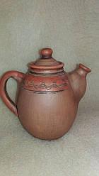 Оригінальний чайник -заварник з візерунком