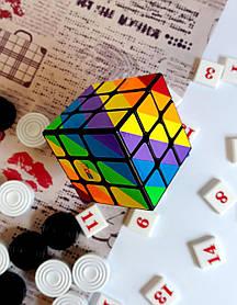 Кубик Рубика 3х3 Радужный Черный SC361 Розумний кубик Украина