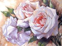 Набор для вышивки крестом Dimensions «White Roses» / «Белые розы»