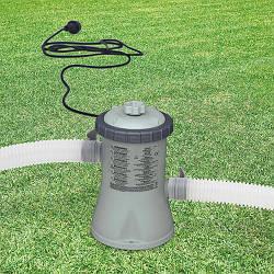 Картриджный фильтр насос 28602 Intex,для наливных (от 244 до 305 см) и каркасных (305 см)230V, 1250 л/ч