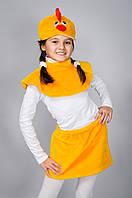Детский меховой костюм Цыпленок