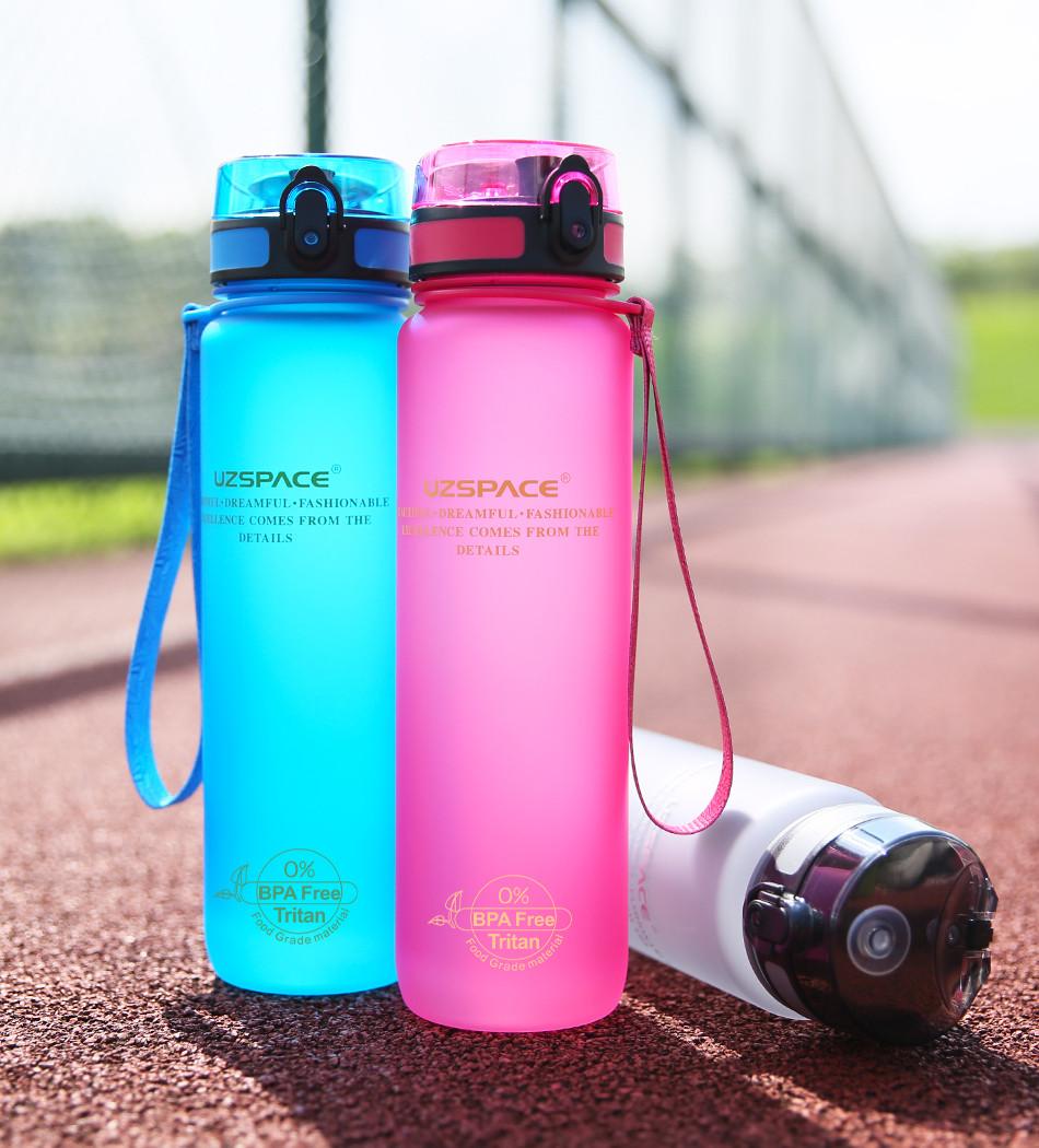 Спортивная бутылка для воды из тритана Uzspace 1000 мл