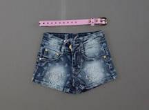 Джинсовые шорты для девочек Nice Wear оптом, 98-128 pp. {есть:104,98}
