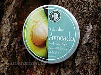 Натуральный скраб для тела Lulur Spa Cream  Avocado ( Индонезия о.Бали )