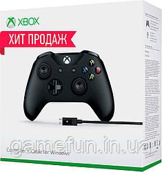 Джойстик Xbox one + кабель для ПК Windows 10 (Оригинал)