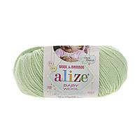 Alize baby wool - 41 салатовый