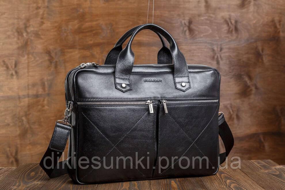 2e8e9c054a10 Мужская деловая сумка портфель Blamont для ноутбука и документов Bn012A