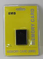 Карта памяти 8 MB PS2  , Sony Memory Card 8Mb PS2