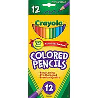 Цветные карандаши Crayola  Крайола 12 шт Оригинал (США)