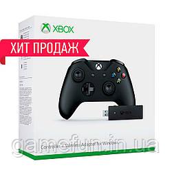 Джойстик Xbox one + адаптер для пк windows 10 (Оригинал)