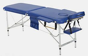Массажный стол BodyFit, 2 сегментный,алюминьевый Бежевый, фото 2