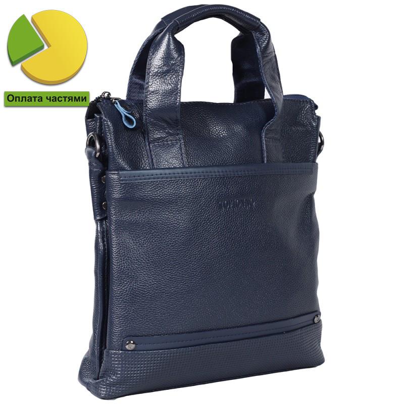 Мужская кожаная сумка формата А4 вертикального типа Tofionno TF007715-