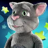 Игрушка кот Том говорящий ( интерактивная игрушка )