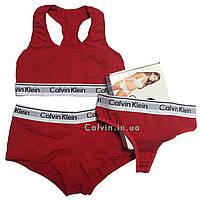Женский комплект Calvin Klein красный