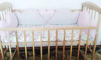 """Бортик в кроватку """"Для принцессы"""""""