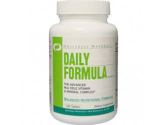 DAILY FORMULA 100таб витамины+минералы, фото 2