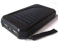 Внешний Аккумулятор Power Bank UKC 25800 mAh с Солнечной Панелью и LED Фонариком