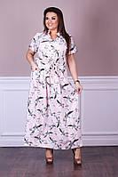 Платье, 807 ЛБ батал (52-58), фото 1