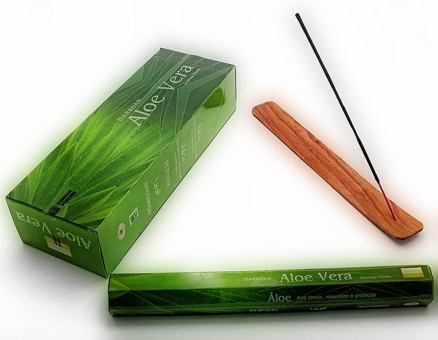 Aloe Vera (Алое Вера) , (DARSHAN), Благовония, аромапалочки, шестигранник
