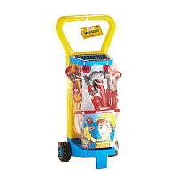 Детский игровой набор Маленький механик с тележкой Wader 10776