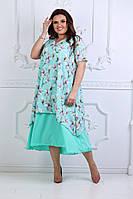 Платье, 861 ЛБ батал, фото 1