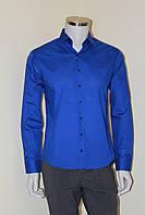 Рубашка мужская классическая синяя №10 - ультрамарин 22