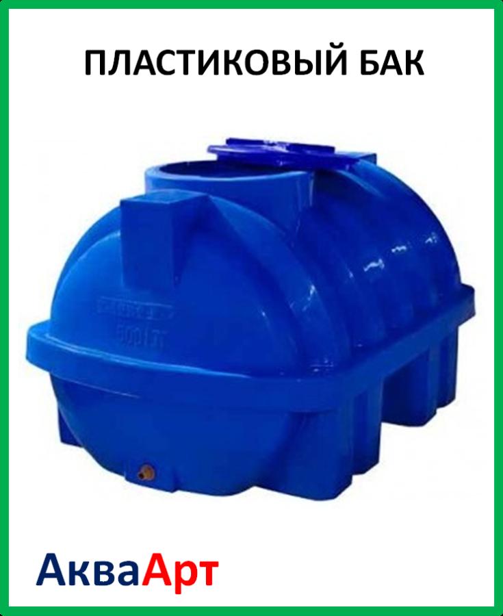 Пластиковый бак Euro Plast RGD 2000 Р (175х148х126) двухслойный с ребром