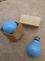 Лампочка 220В 25Вт голубая, фото 1