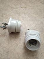 Патрон керамический Е27 настенный, фото 1
