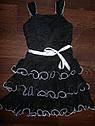 Стильное черное платье (Размер 3-5Т) IZ Amy Byer Tiered Ruffle Dress (США), фото 3