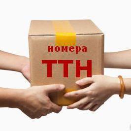 ТТН-отправки заказов
