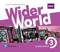 Wider World 3 Class Audio CDs